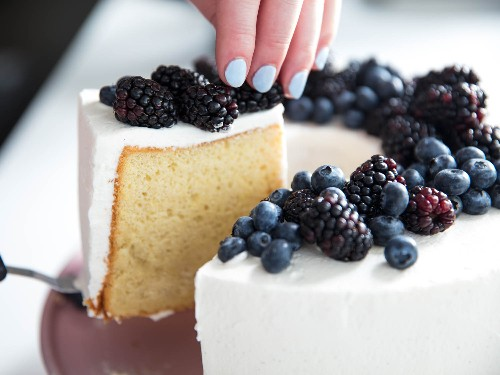 How to Make Classic Chiffon Cake Ultra Airy and Light