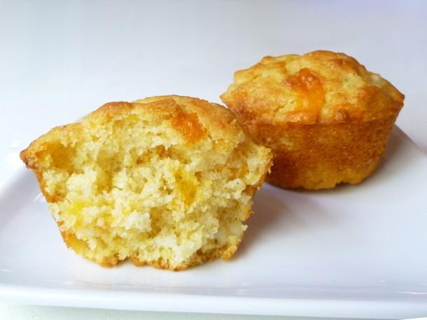 Bread Baking: Corn and Cheddar Muffins Recipe
