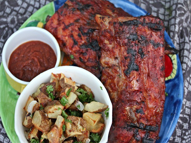 Baby Back Ribs With Mojo Barbecue Sauce Recipe