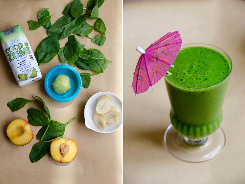 From the Blender: Tropical Paradise Green Smoothie