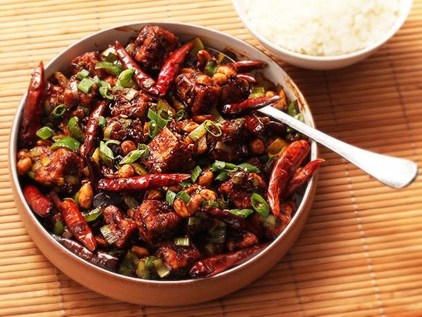 The Vegan Experience: Crispy Kung Pao Tofu