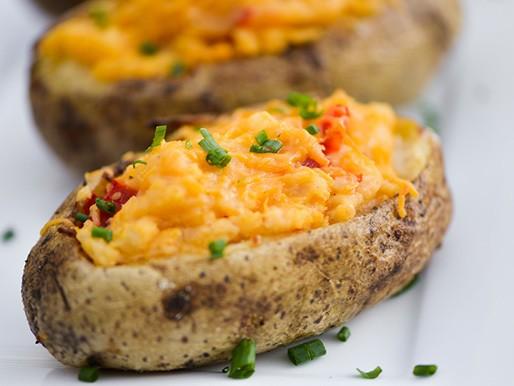 Pimento Cheese Twice Baked Potatoes Recipe