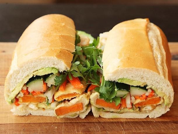 Vietnamese Sandwiches With Tempura Sweet Potato and Avocado (Vegan Banh Mì) Recipe