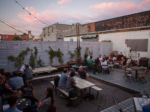 Cocktails and Cuisine in Sight of the Gowanus Canal at Lavender Lake