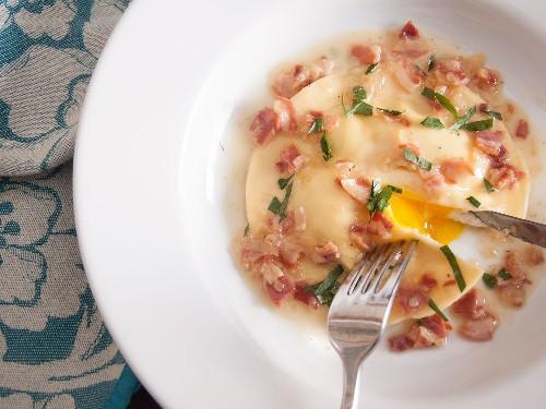 How to Make Uovo in Raviolo: Showstopping Runny Egg Yolk Ravioli
