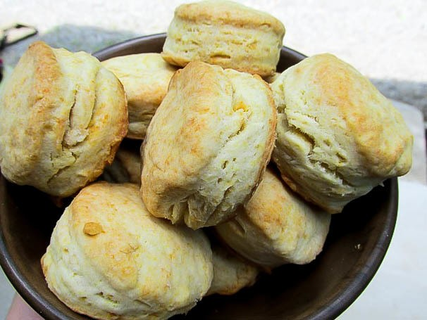 Light and Tender Cream Biscuits Recipe