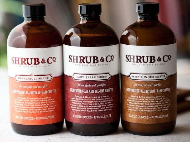 Shrubs from Shrub & Co Are Awesome for Cocktails