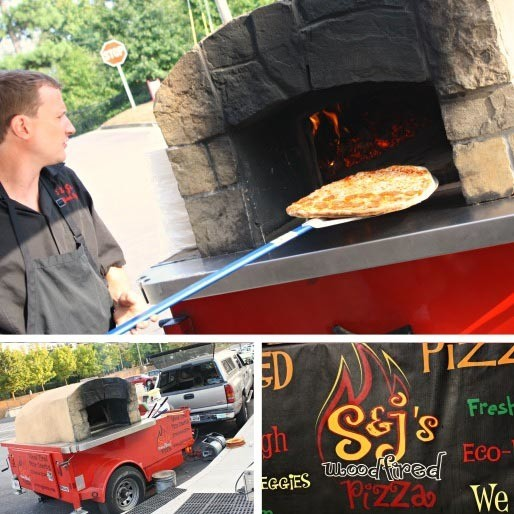 Marvelous Mobile Pies from S & J's Woodfired Pizza in Atlanta, GA