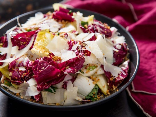 Radicchio, Endive, and Anchovy Salad Recipe