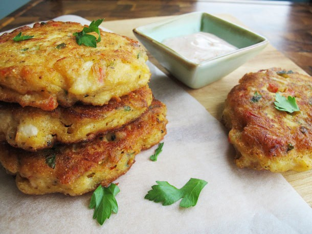 Cajun Chicken Fritters Recipe