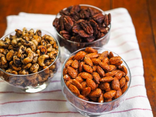 Spice Up Your Holiday With Three Spiced Nuts Variations