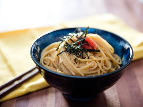 Japanese Mentaiko Spaghetti: Drunk Food So Good, You Can Eat It Sober