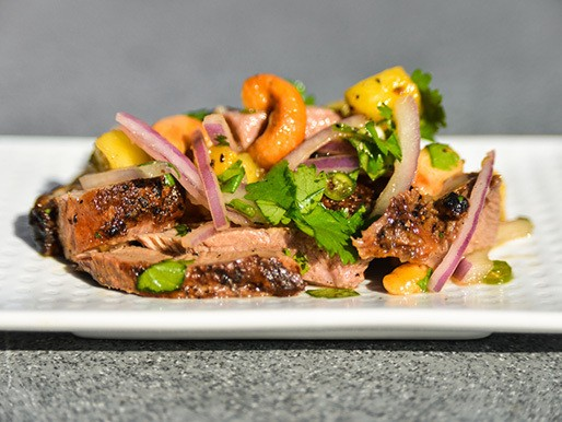 Grilling: Thai Spicy Duck Salad