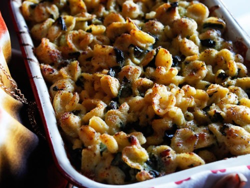 Mac and Cheese and Greens From 'Marcus Off Duty'