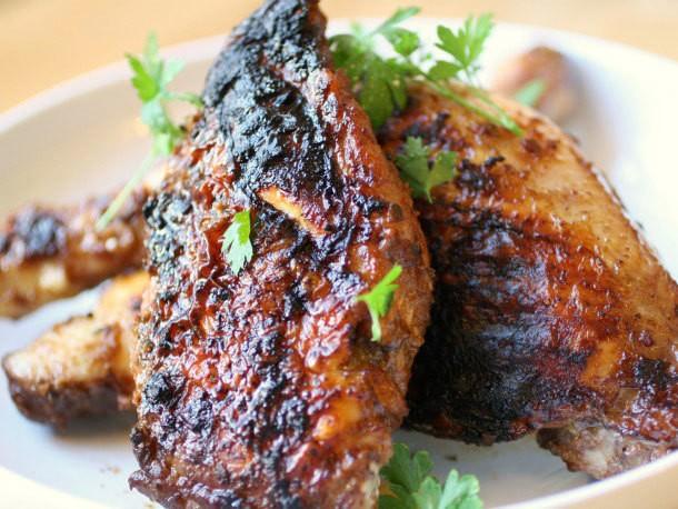 Grilled Coq au Vin Recipe