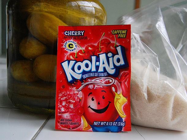 How to Make Koolickles, Kool-Aid Soaked Pickles