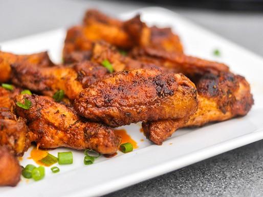 Grilled Cajun Chicken Wings Recipe