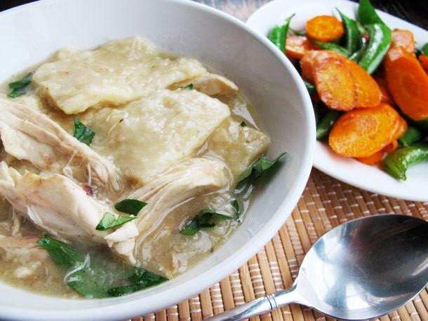"Chicken and ""Slick"" Dumplings Recipe"