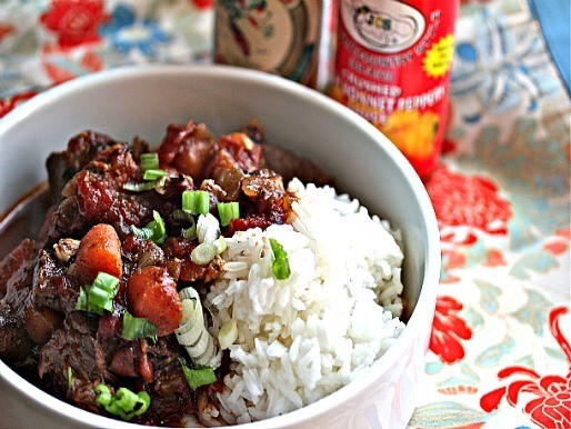 Sunday Supper: Jamaican Beef Stew with Rice