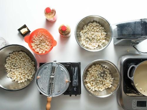 The Best Way to Make Popcorn