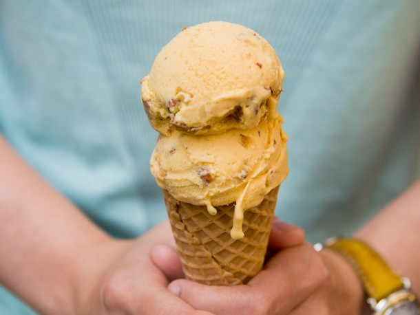 Scooped: Roasted Apricot and Almond Ice Cream