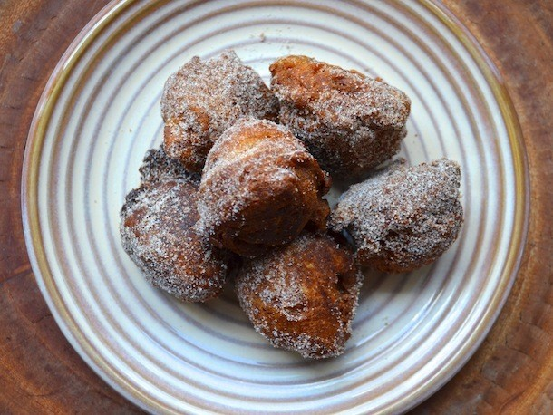 Apple Brandy Doughnut Holes Recipe