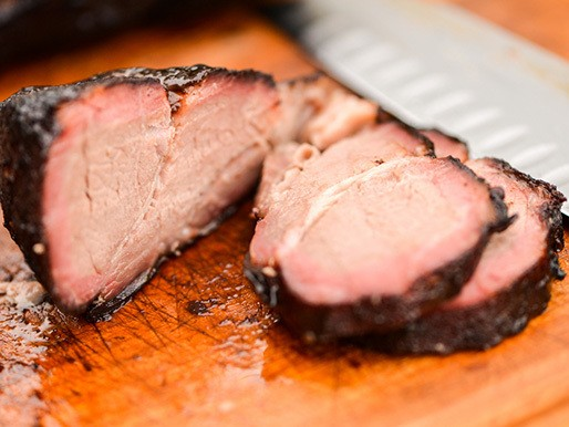 Smoked Char Siu Pork Shoulder Steaks Recipe