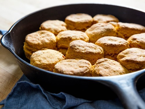 The Best Sweet Potato Biscuits Recipe
