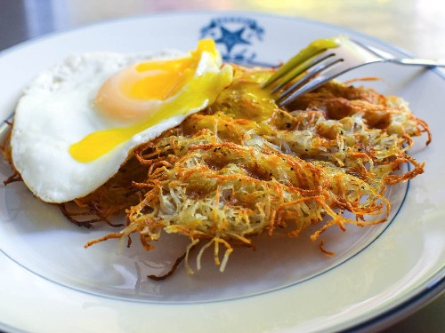 Waffle-Iron Hash Browns Recipe