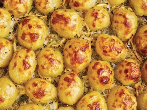 Lemon Roasted Potatoes From 'Maximum Flavor'