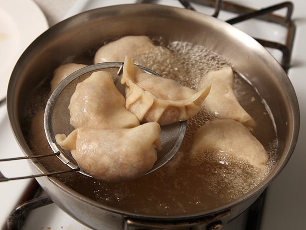 How To Make Bacon and Ramp Dumplings