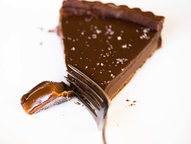 Pie of the Week: Salted Chocolate Caramel Tart