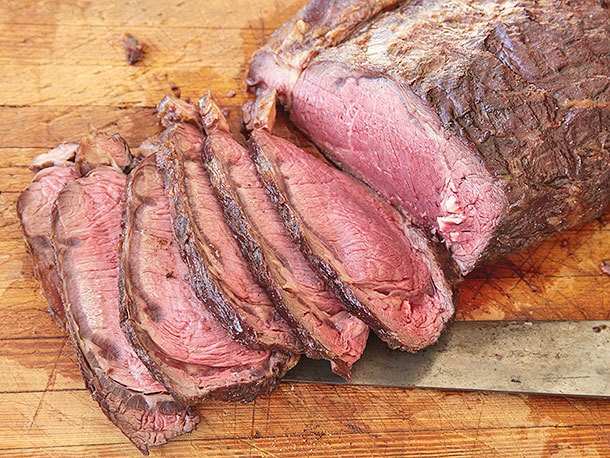 How to Grill-Roast a Boneless Bison Rib Roast