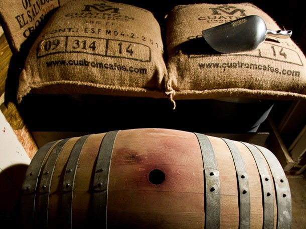 Single Origin Coffee Aged in a Pinot Noir Barrel? Only in Portland
