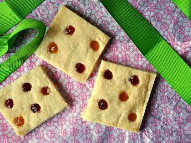 Polka Dot Shortbread Recipe