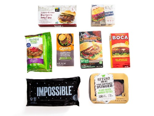 The Best Imitation-Meat Burgers (Including the Impossible, and Beyond)