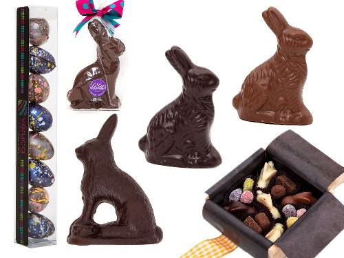 Our Favorite Chocolate Easter Bunnies, Eggs, and More