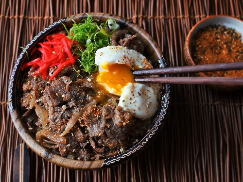 Video: How to Make Gyudon (Japanese Simmered Beef and Rice Bowls)