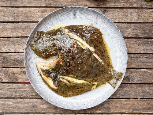 Basque-Style Grilled Whole Turbot Recipe