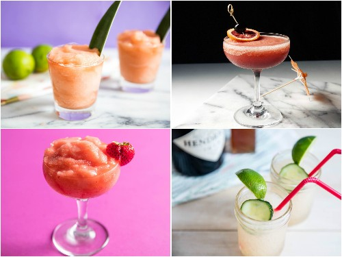 15 Frozen-Cocktail Recipes Worth the Brain Freeze