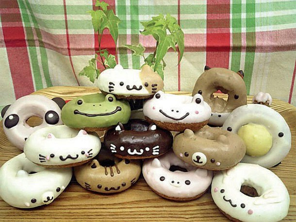 Cute Animal Doughnuts from Japan, Turned into Manga and Anime, and Back Into Doughnuts