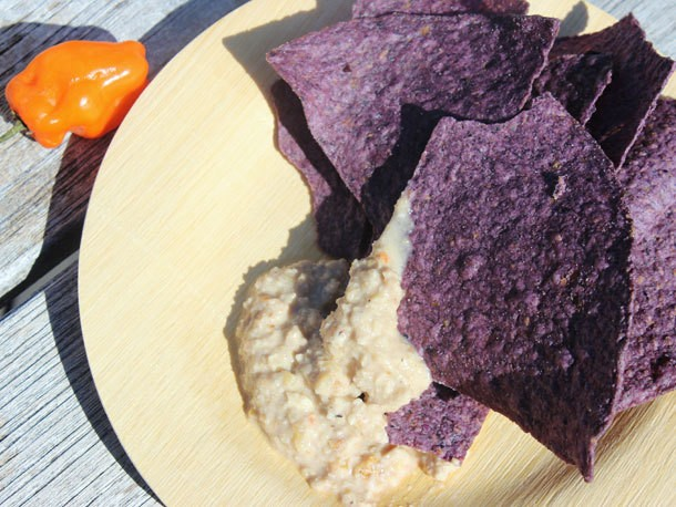 Walnut-Habanero Salsa With Roasted Garlic and Orange Recipe