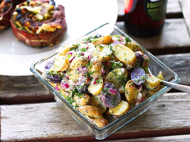 Easy Fingerling Potato Salad With Creamy Dill Dressing Recipe
