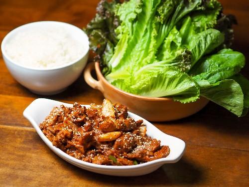 How to Make Korean Stir-Fried Pork With Chili Marinade and Kimchi (Jaeyook Kimchi Bokum)