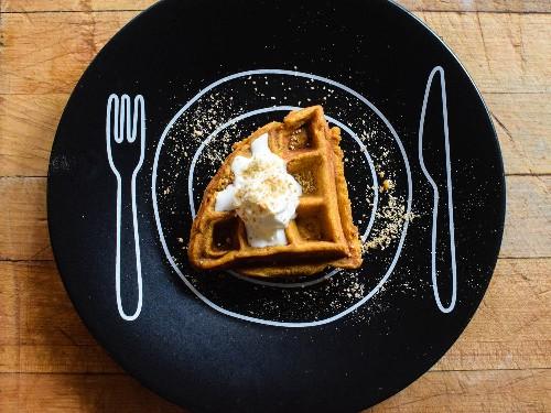 Forget Pumpkin Pie: Use a Waffle Iron for Quick Pumpkin Custard