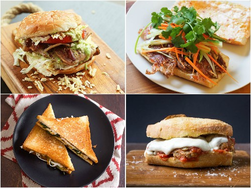 25 Recipes for Super-Satisfying Sandwiches