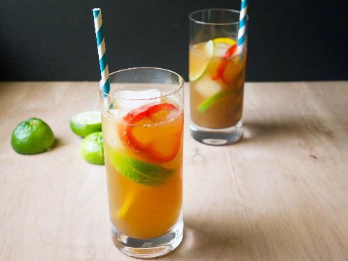 Fill Your Game Day Pitcher With This Savory Beer Cocktail
