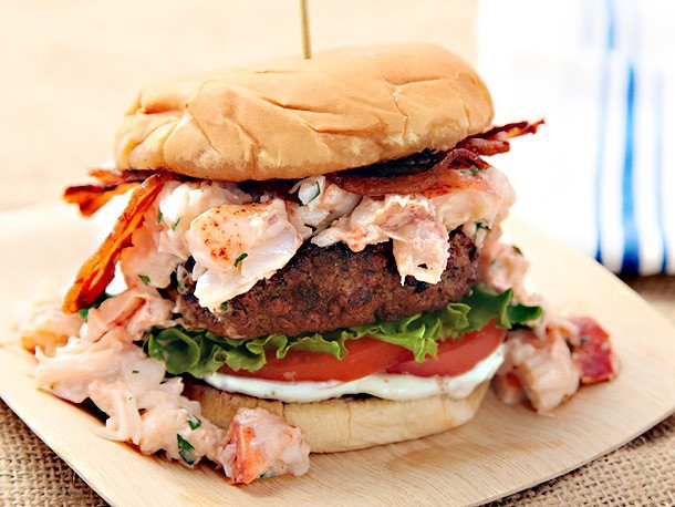 The Burger Lab: How To Make Surf & Turf Burgers (Bacon- and Lobster-Topped Burgers)