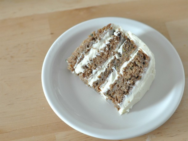 Spiced Zucchini Layer Cake Recipe