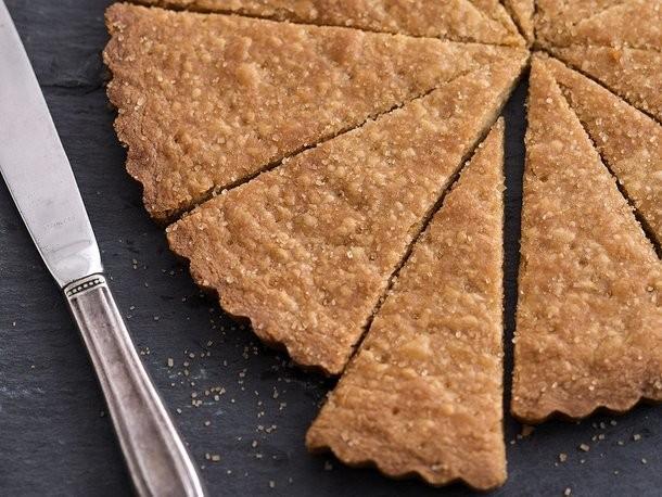Crispy Brown Sugar Shortbread